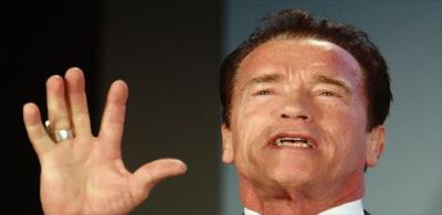 الممثل الشهير وحاكم كاليفورنيا السابق أرنولد شوارزنيغر