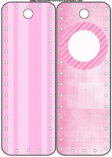3bbb9a6f1097b2 Cor de Rosa - Kit Completo com molduras para convites, rótulos para ...