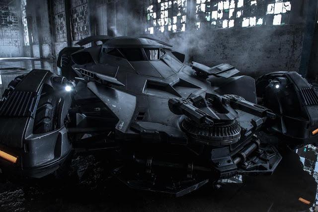 """Intip """"Batmobile di Batman V Superman"""" yang Berteknologikan Hibrida - Clouidnesia"""