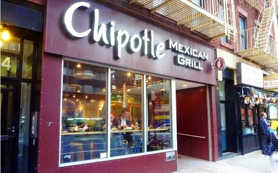 Restaurante Chipotle Mexican Grill em Nova York