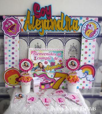 kit birthday soy luna