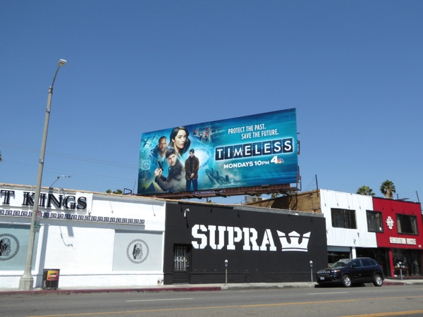 Timeless season 1 billboard