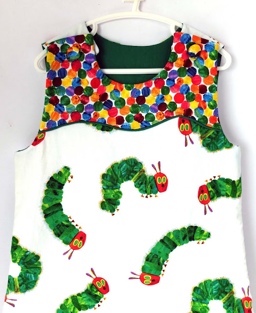 The Very Hungry Caterpillar Baby Sleeping Bag The Diy Fox