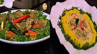 طريقة عمل سمك بالكريمة - دجاج بكريمة النعناع - لفائف الكوسة بالجبنة مع الشيف شربيني في الشيف 14-1-2017
