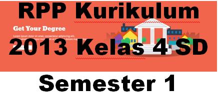 Contoh Format RPP Kurikulum 2013 Kelas 4 SD