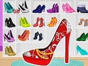 Want to have one of the most beautiful shoes ? You can design now your dream shoes, with colorful shapes, high heels and cute patterns . At the end you may choose some stylish accessories. Use the mouse to play.