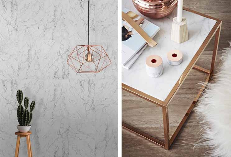 interior design marble trend for 2016