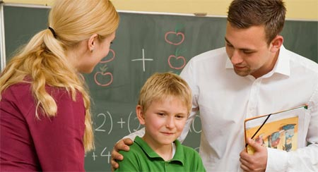 علاقة المدرسة بالعائلة