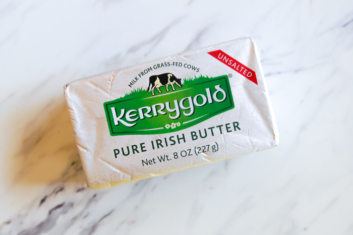 Kerrygold butter on marble
