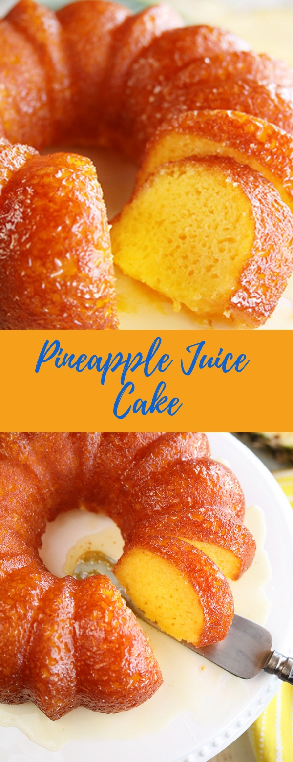 Pineapple Juice Cake #CAKE #PANCAKE