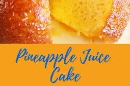 Pineapple Juice Cake