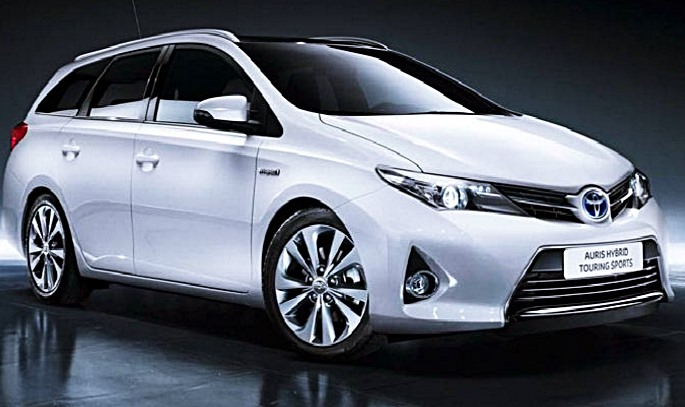 2018 Toyota Auris Hybrid Touring Sports United Kingdom ...
