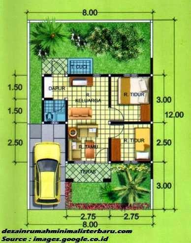 Contoh Desain Rumah Minimalis Type 36 Terbaru Blog Mahasiswi Kece