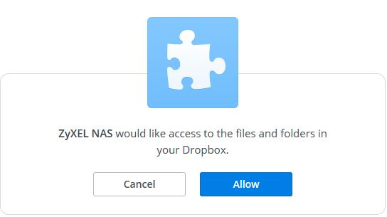 It's Time To Share !: ZyXel - How to Use Dropbox with the