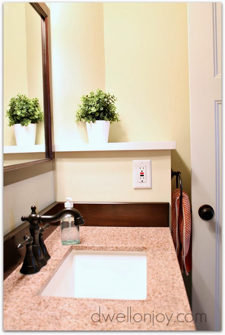 Master Bathroom Reveal: Dwell On Joy: Master Bathroom Reveal