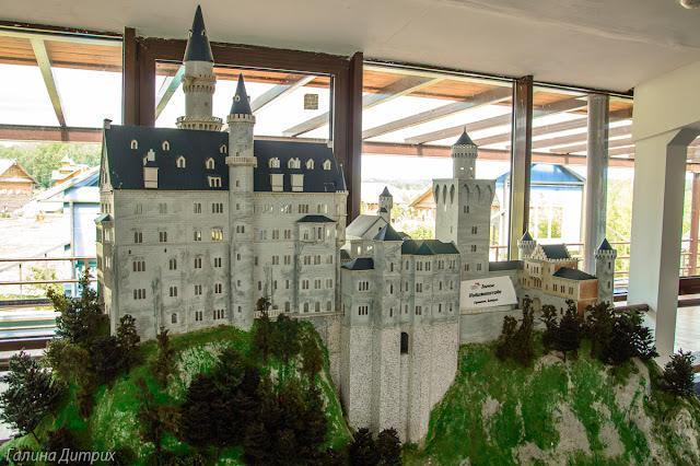 Модели замков в Этномире