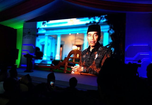 Presiden Jokowi Berharap Kemaslahatan Islam Nusantara untuk Indonesia dan Dunia
