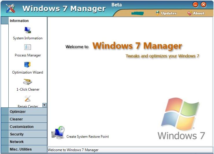 9-2013 new] (full + keygen) yamicsoft windows 7 manager 4. 3. 1.