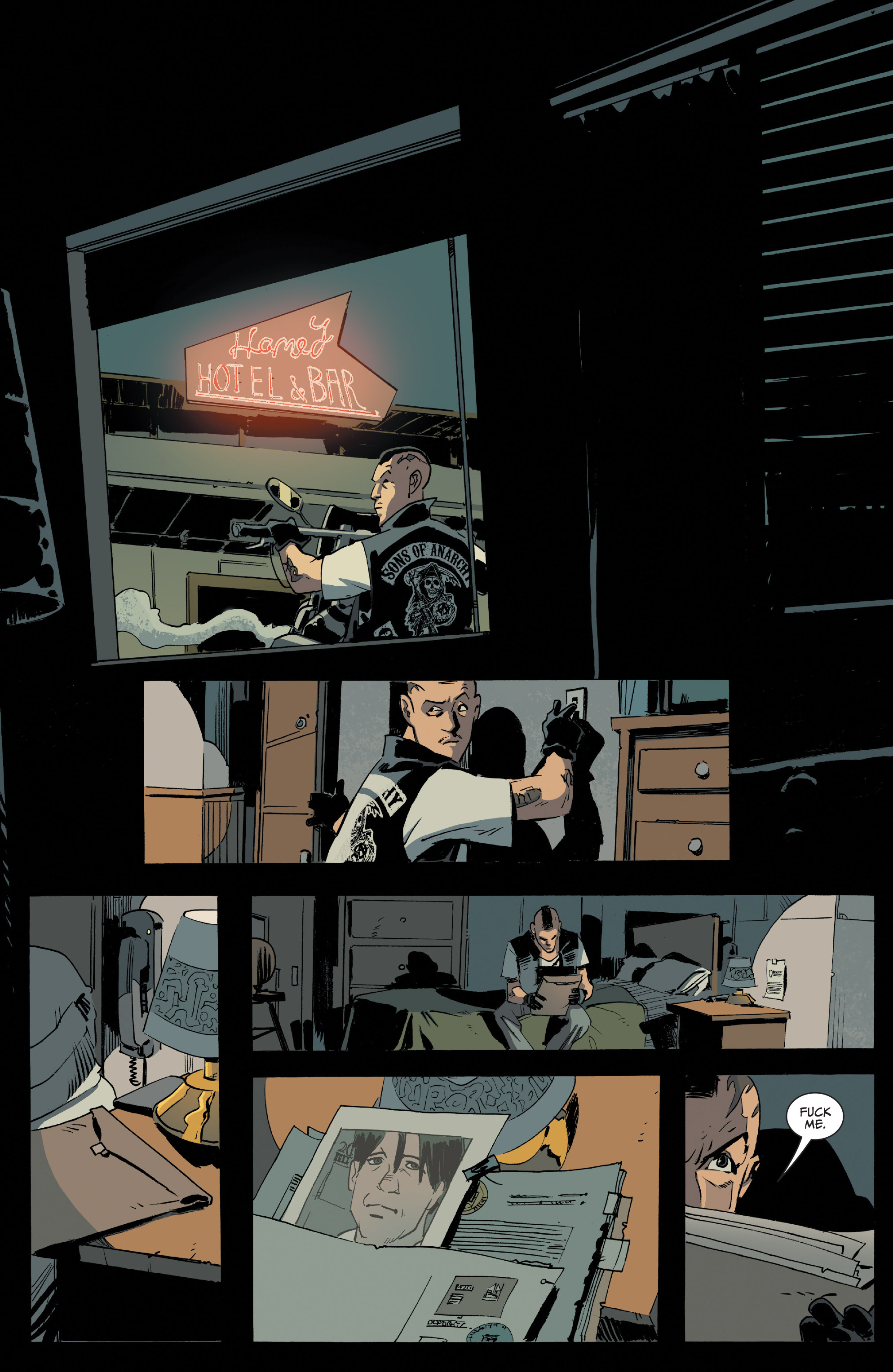 Read online Sons of Anarchy comic -  Issue #16 - 17