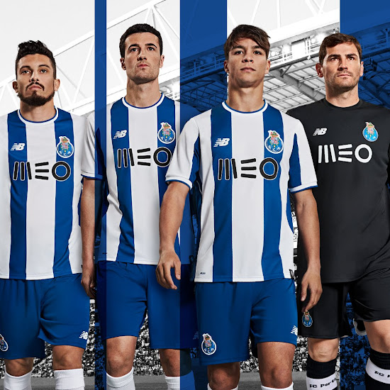 Porto 17-18 Home Kit Released - Footy Headlines bfe54de4c