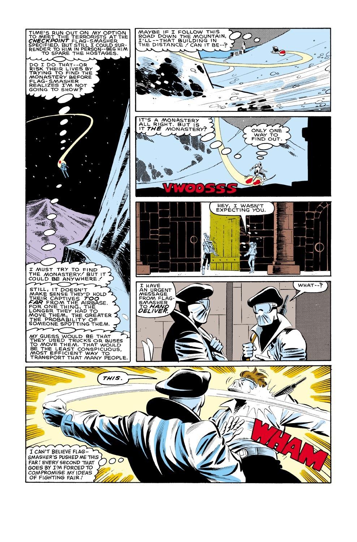 Captain America (1968) Issue #321 #249 - English 20