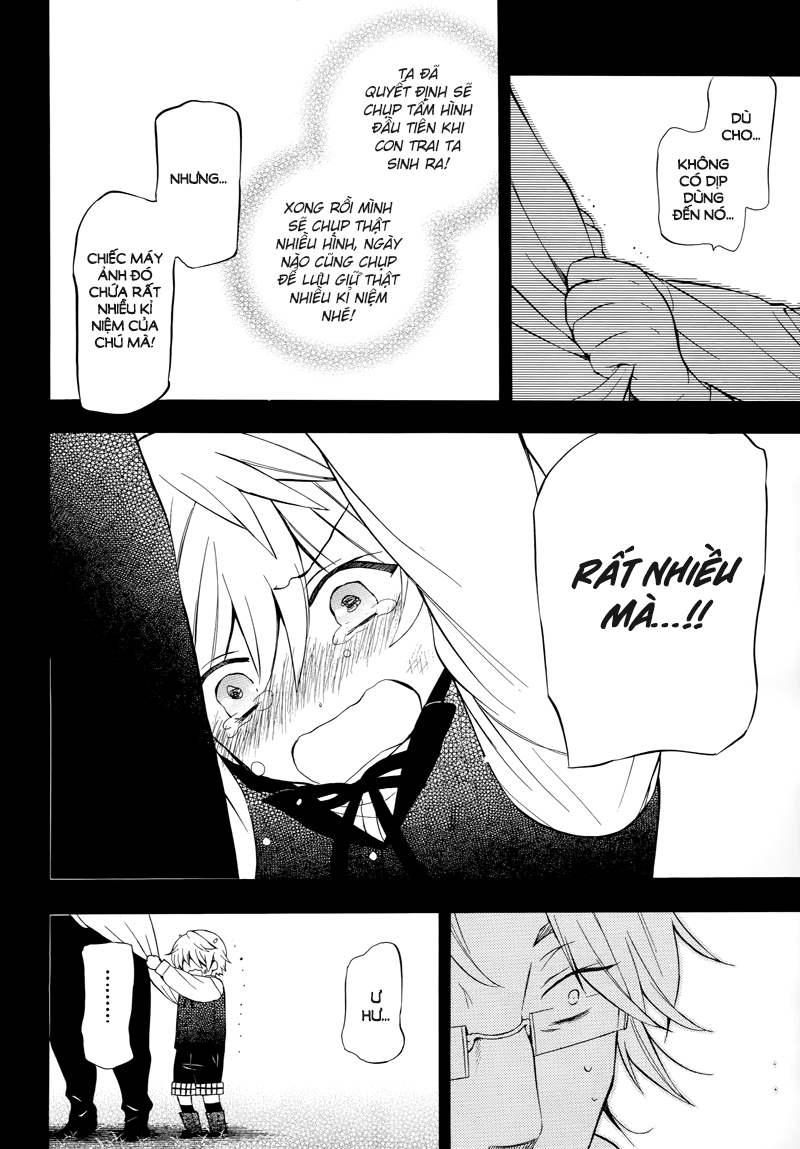 Pandora Hearts chương 082 - retrace: lxxxii wish trang 29