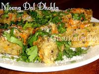 Moong Dal Dhokla