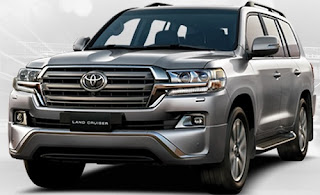 Harga Pontianak Toyota Land Cruiser Silver Metallic