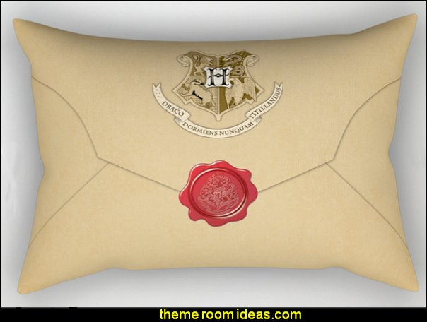 Hogwarts Envelope Pillow