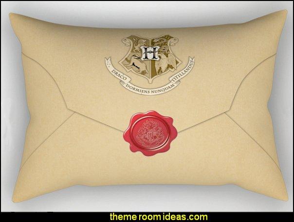 Hogwarts Envelope Pillow