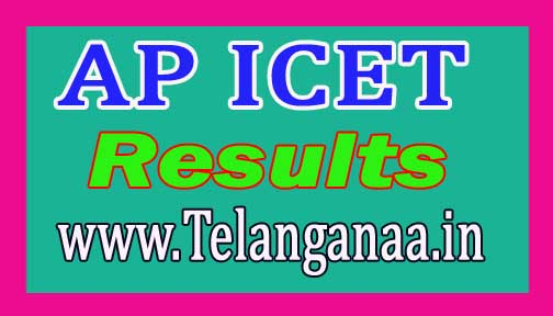 AP ICET Result 2018 Andhra Pradesh Integrated Common Entrance Test Merit-list