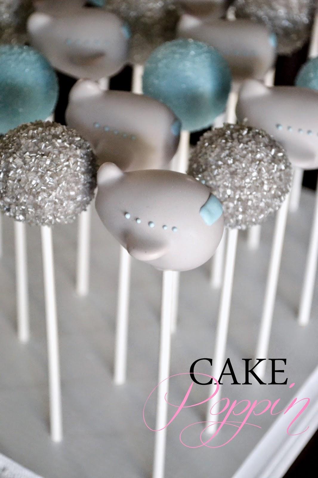 Airplane Propeller Cake Pops