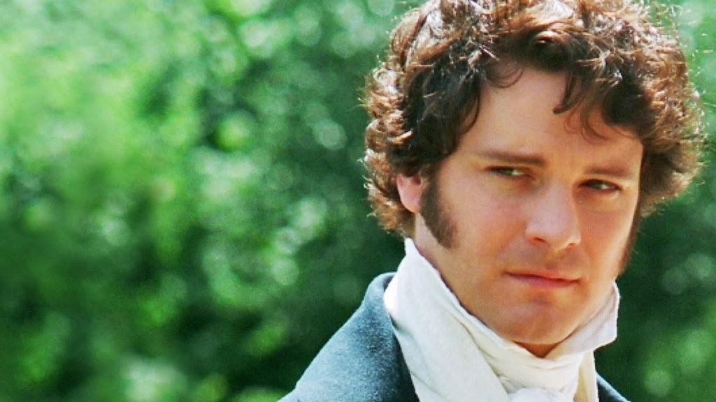 Colin Firth as Mr Darcy, Pride & Prejudice 1995