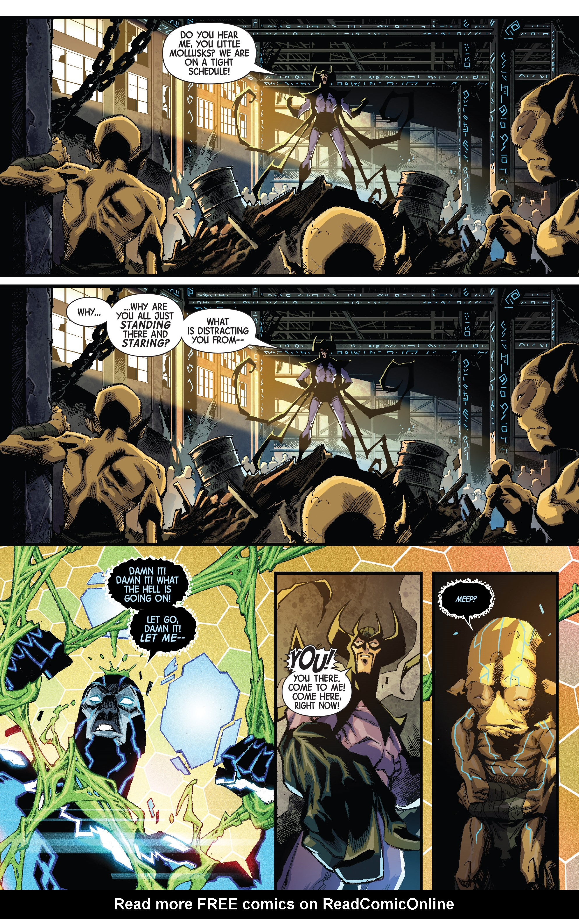 Read online Mosaic comic -  Issue #8 - 4
