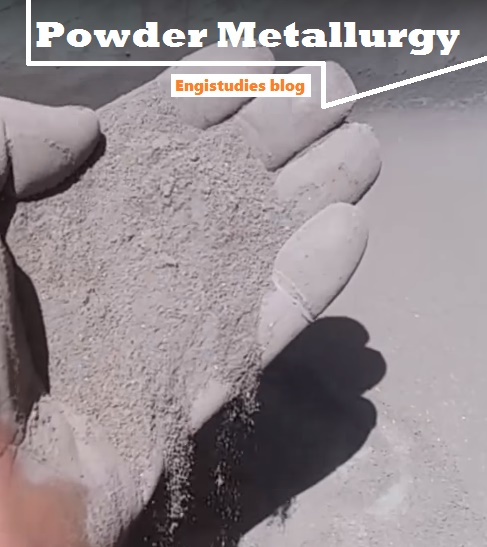 Powder metallurgy is a process of making components using powderof metals.
