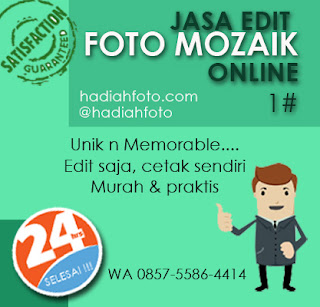 Jasa Edit Foto Mozaik
