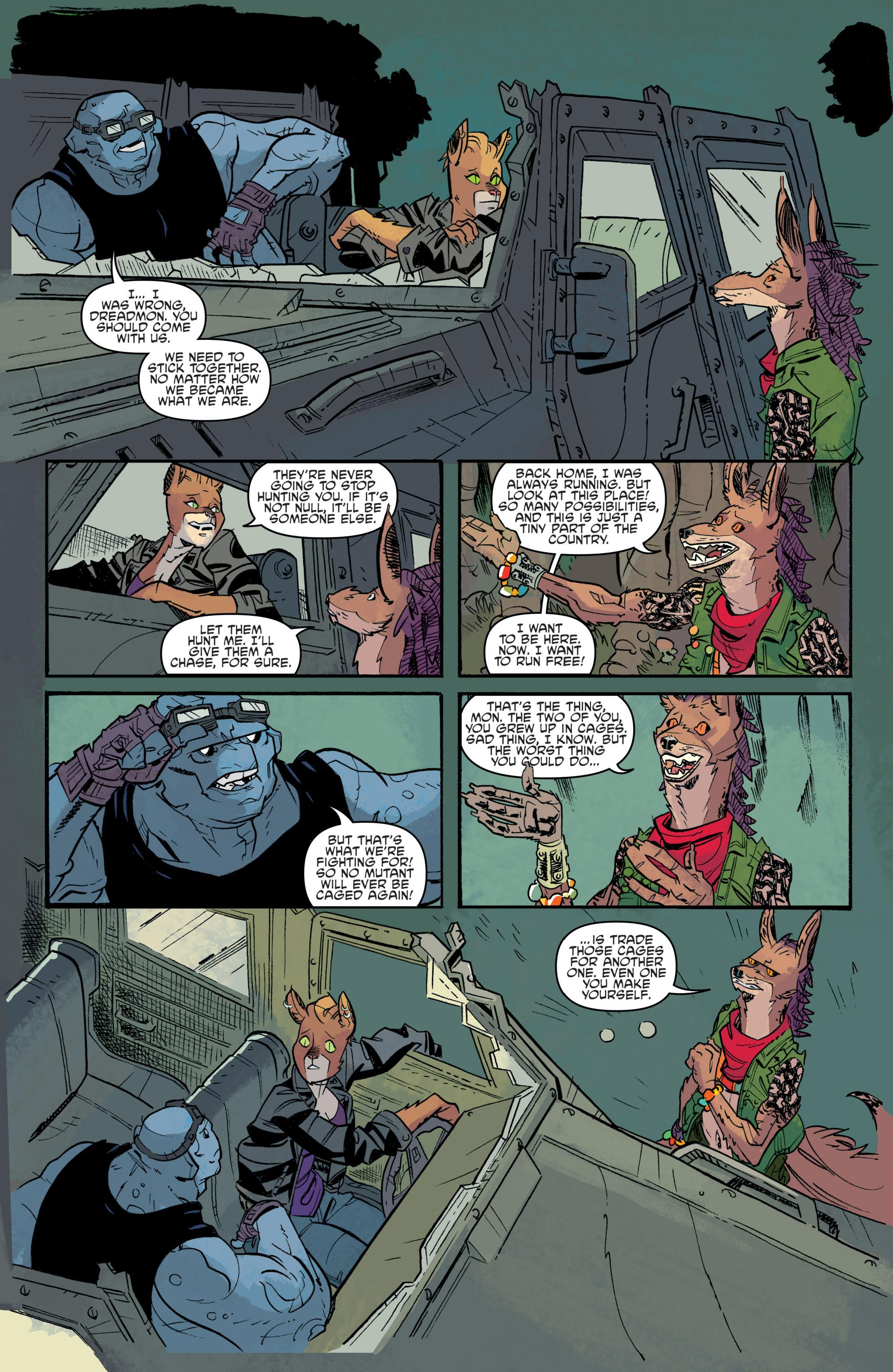 Read online Teenage Mutant Ninja Turtles Universe comic -  Issue #11 - 25
