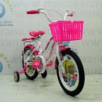 Sepeda Anak Wimcycle Barbie CTB AF 16 Inci Lisensi
