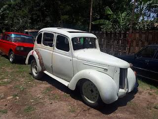 Lapak Mobil Antik Bahan Langka Ford Prefect 1948 Pintu kupu-kupu 4doors