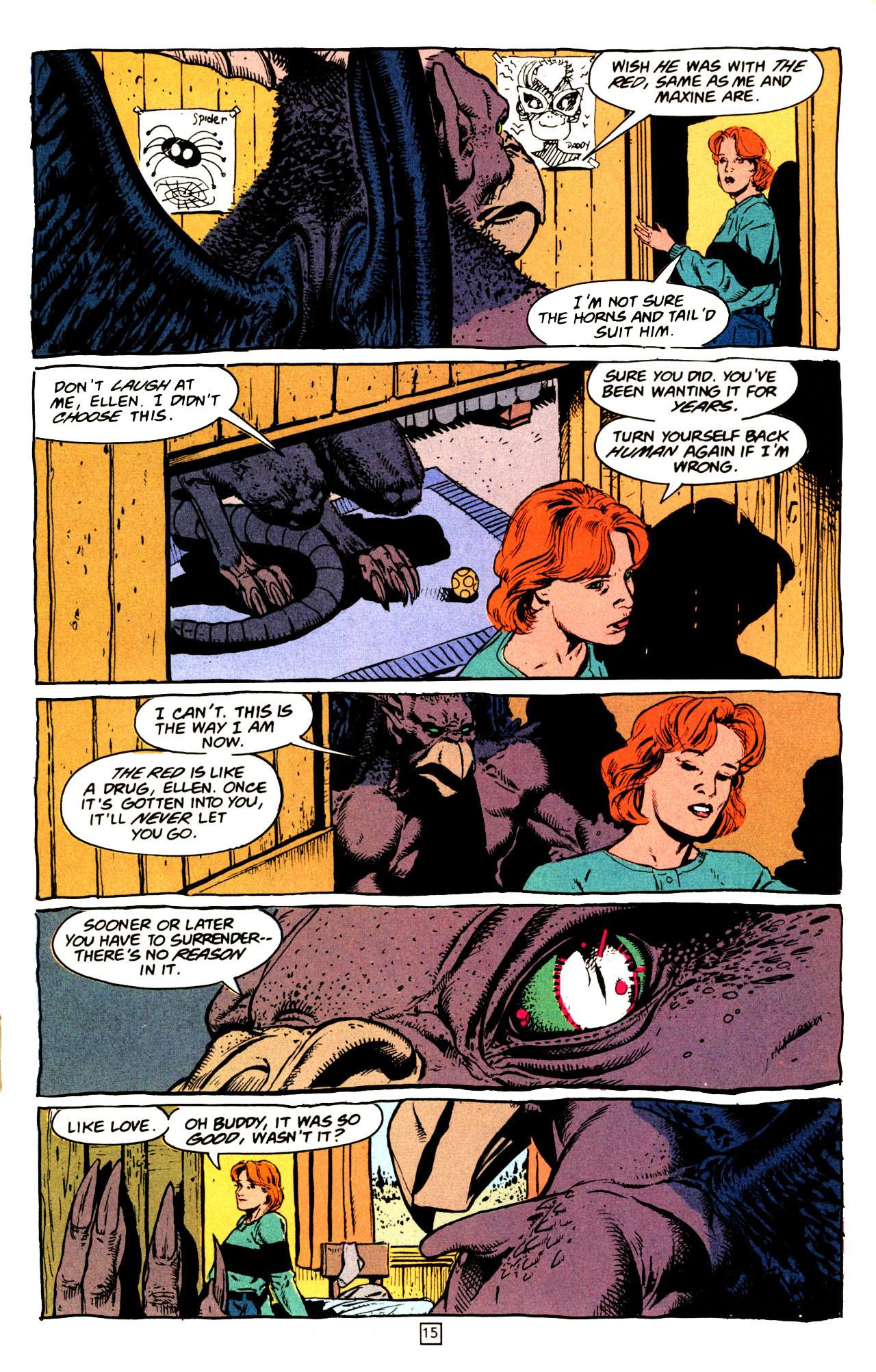 Read online Animal Man (1988) comic -  Issue #72 - 16