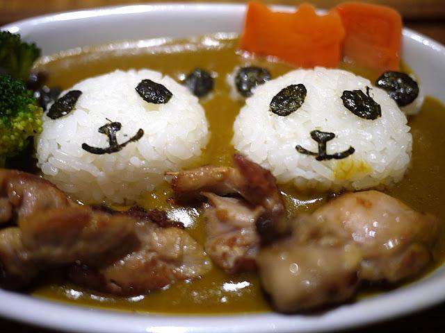P1280037 - 熱血菜訪│台中福科路美食-艾蒂兒時尚廚房療癒系的熊貓咖哩飯(已歇業)