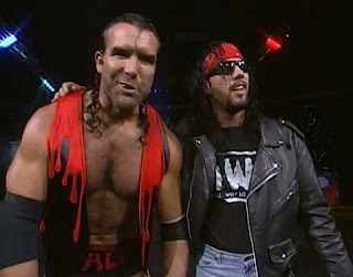 WCW Halloween Havoc 1997 - Scott Hall and Syxx are just too sweet