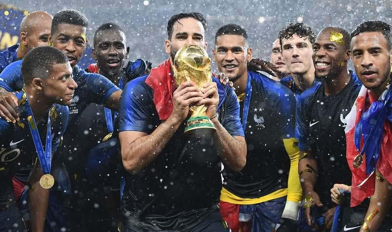 Франция победители
