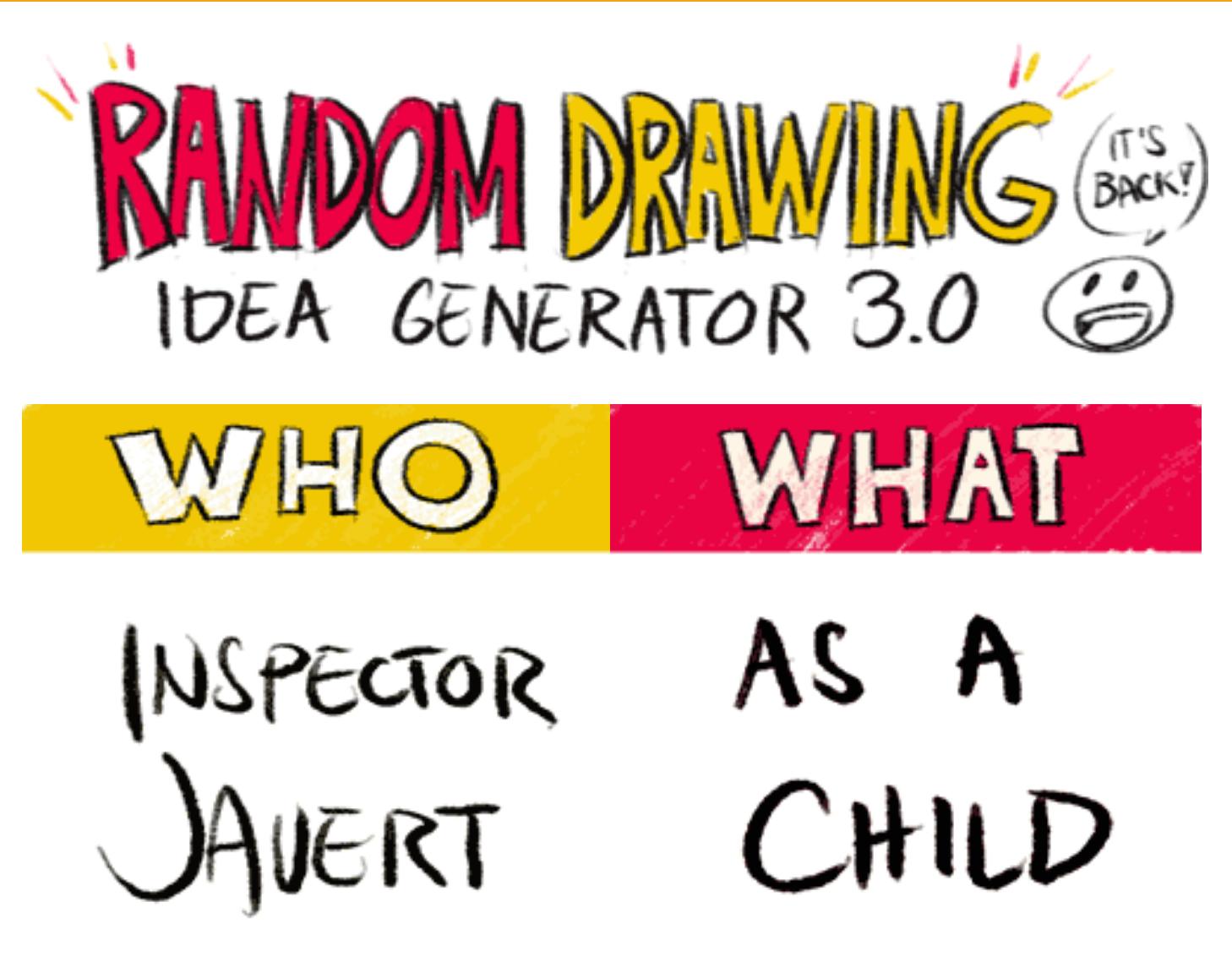 Drawing Idea Generator Calaizka