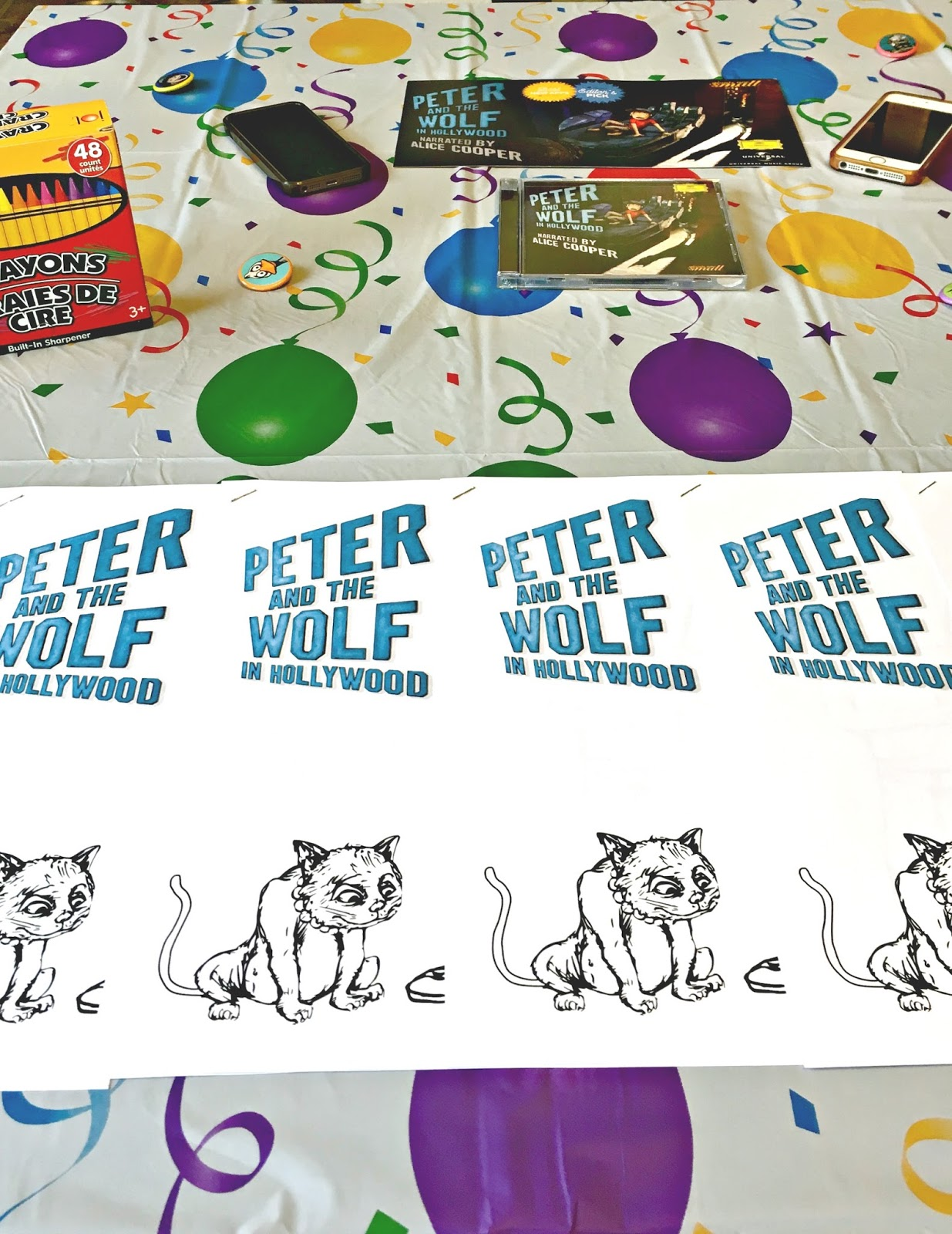 Peter and the Wolf Party Ideas #PeterandtheWolfApp - We Got The Funk
