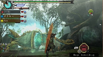 Monster Hunter Portable 3rd (English Patched) PSP