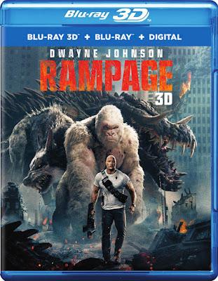 Rampage 3d Blu Ray