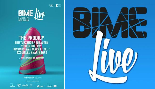 Cartel de festival BIME Live