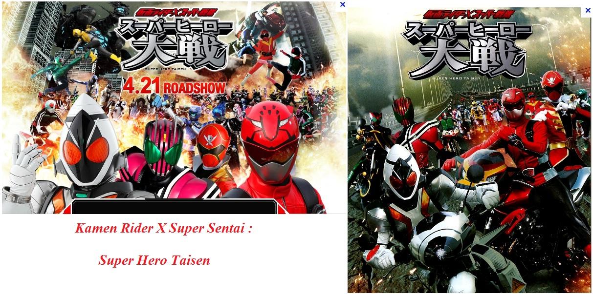 Wesley LSH Personal Blog's (c) 2016: Kamen Rider X Super