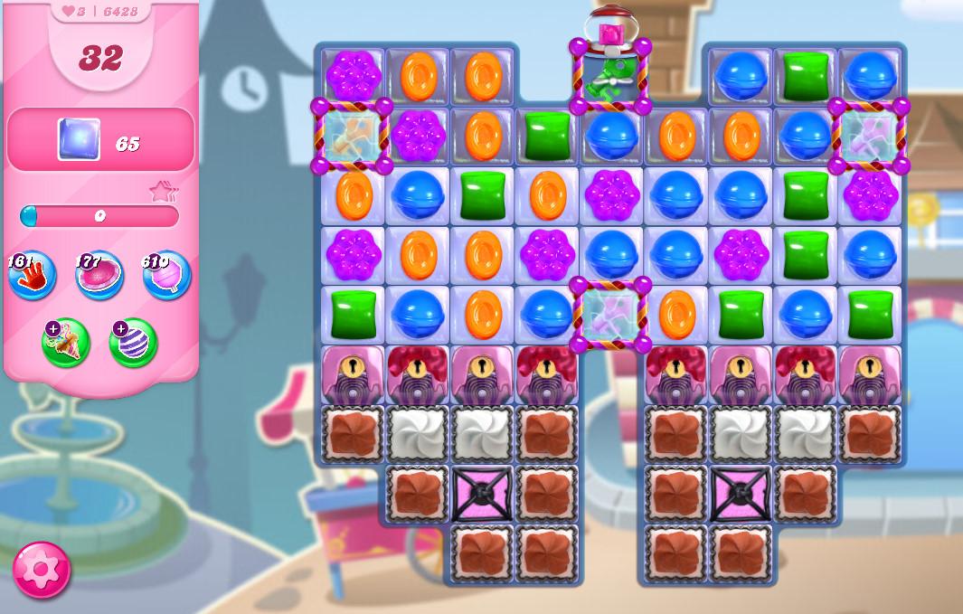 Candy Crush Saga level 6428